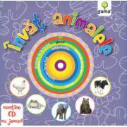 Învăţ animalele +CD