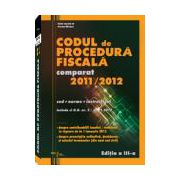 Codul de Procedura Fiscala, editia a III-a - 2012