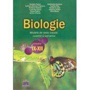 Biologie: modele de teste initiale, curente si sumative clasele 9 - 12