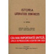 Istoria literaturii romanesti (set 3 volume) Nicolae Iorga