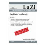 Legislatia insolventei (actualizat la 20.02.2012).