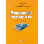 Managementul resurselor umane. Aplicatii