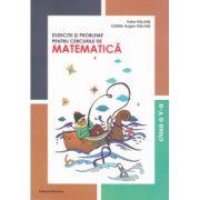 Exercitii si probleme pentru cercurile de matematica clasa a 5-a