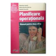 Planificare operationala cls XI
