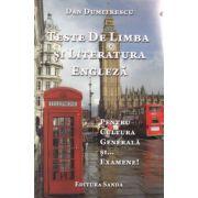 Teste de limba si literatura engleza pentru cultura generala si...examene!