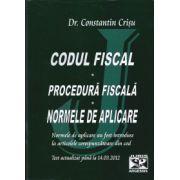 Codul fiscal- Procedura fiscala - Norme de aplicare - Text actualizat pana la 14.03.2012