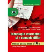 Tehnologia informatiei si a comunicatiilor. Manual clasa a IX-a - scoala de arte si meserii