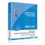 Drept civil - Teste grila pentru verificarea cunostintelor. Editia a II-a