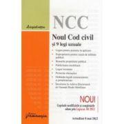 Noul Cod civil si 9 legi uzuale actualizat 8 mai 2012