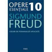 Opere Esentiale, vol. 10 - Eseuri de psihanaliza aplicata
