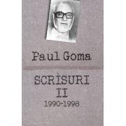 Scrisuri II (1990-1998) - interviuri, dialoguri, scrisori, articole