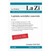 Legislatia societatilor comerciale (actualizat la 15 iulie 2012).