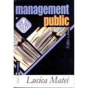 Management public, editia a II-a