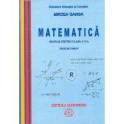 Matematica manual pentru clasa a X-a, Trunchi comun