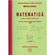 Matematica: Manual pentru clasa a XI-a, Trunchi conum+curriculum diferentiat (3 ore)