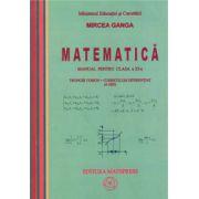 Matematica: Manual pentru clasa a XI-a, Trunchi comun + curriculum diferentiat (4 ore)