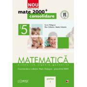 Mate 2012 Consolidare MATEMATICA. ARITMETICA, ALGEBRA, GEOMETRIE. CLASA A V-A. PARTEA I