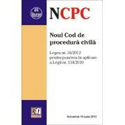 Noul cod de procedură civilă 1 Septembrie 2012