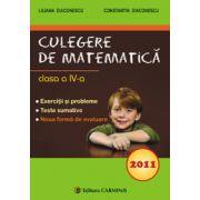 Culegere de matematica clasa a IV -a