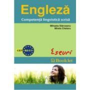 Engleza - Competenta lingvistica scrisa