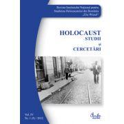 Holocaust. Studii şi cercetări. Vol. IV. Nr. 1 (5)/2012