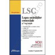 Legea societatilor comerciale si 7 legi uzuale actualizat 17 septembrie 2012