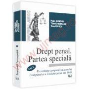 Drept penal. Partea speciala. Vol. I