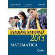 EVALUARE NATIONALA 2013 MATEMATICA