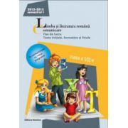 Limba şi literatura română 2013.Comunicare clasa a VII-a Semestrul I