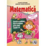 Matematica : exercitii si probleme , teste de evaluare pentru elevii claselor I - II , editie noua