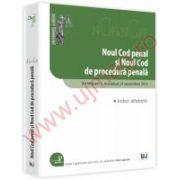 Noul Cod penal si Noul Cod de procedura penala Octombrie 2012