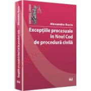 Exceptiile procesuale in noul Cod de procedura civila