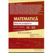 Matematica Ghid de pregatire pentru clasele IX-XII si examenul de bacalaureat 2013 ( filiera tehnologica) pentru tara