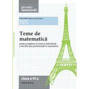 Teme de matematică 2013 Clasa a VI-a
