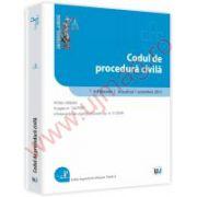 Codul de procedura civila- Octombrie 2012