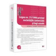 Legea nr. 31/1990 privind societatile comerciale si legi uzuale Ad litteram. Actualizat 1 octombrie 2012