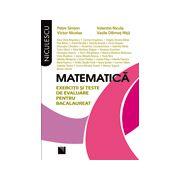 Matematica: exercitii si teste de evaluare pentru bacalaureat