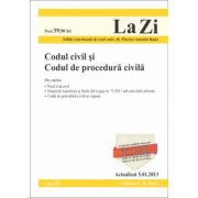Codul civil si Codul de procedura civila (actualizata la data de 5.01.2013).
