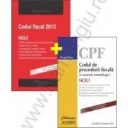 Pachet: Codul fiscal si Codul de procedura fiscala 2013