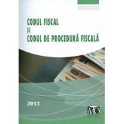 Codul fiscal si Codul de procedura fiscala 2013