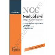 Noul Cod civil si Legea de punere in aplicare corespondenta cu reglementarile anterioare, legislatie conexa si index alfabetic, actualizat 20 ianuarie 2013