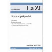 Statutul politistului (actualizat 20.01.2013)