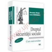 Dreptul securitatii sociale. Editia a IV-a