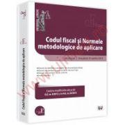Codul fiscal si Normele metodologice de aplicare Aprilie 2013