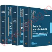 Tratat de procedura civila. Vol. I, Vol. II, Vol. III Editie revazuta, completata si actualizata. Noul Cod de procedura civila