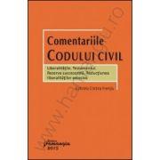 Comentariile Codului civil - Liberalitatile. Testamentul. Rezerva succesorala Reductiunea liberalitatilor excesive