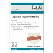 Legislaţia taxelor de timbru. Cod 506. Actualizat la 25.04.2013
