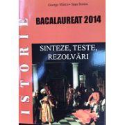 Bacalaureat Istorie 2014 - Sinteze Teste si Rezolvari