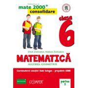 Mate 2013 Consolidare - ALGEBRA, GEOMETRIE. CLASA A VI-A. PARTEA I