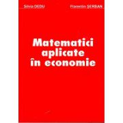 Silvia Dedu Matematici Aplicate in Economie
